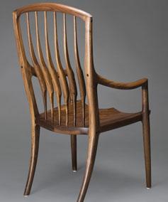 Custom Wood Chairs By Scott Morrison Fine Woodworker