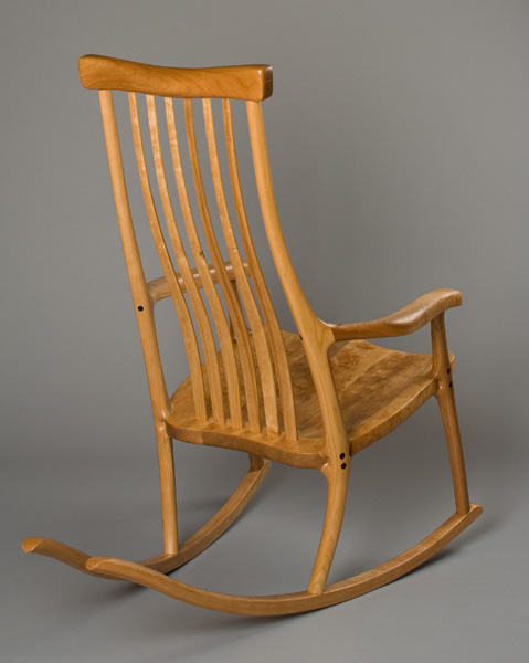 Charming Butterfly Rocking Chair