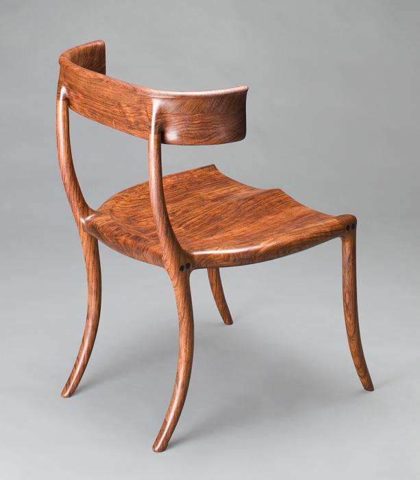 Custom Chair Klismos Chair Handmade Walnut By Scott Morrison