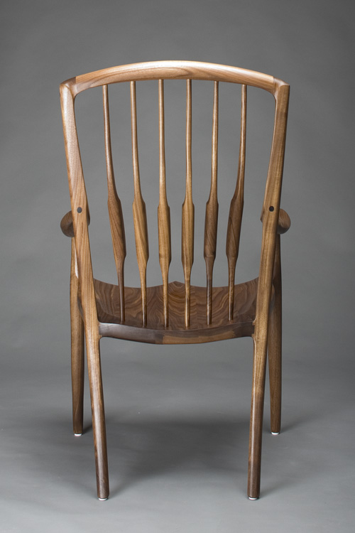 Sculpted Dining Chair Handcrafted By Scott Morrison