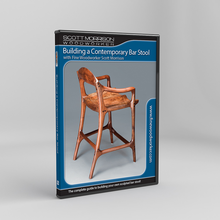 Building A Contemporary Sculpted Barstool With Scott Morrison